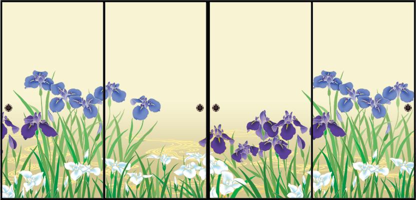 燕子花/菖蒲